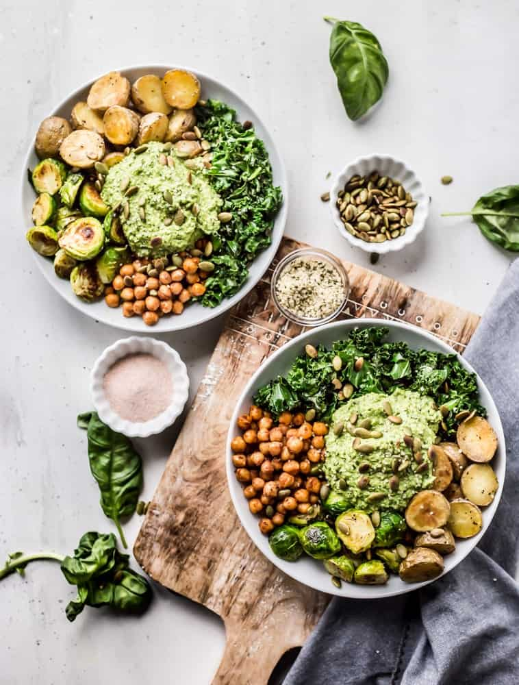 Green Goddess Pesto Bowls